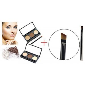 LyDia Eyebrow Shading Kit + Flat Angled Eyebrow Brush