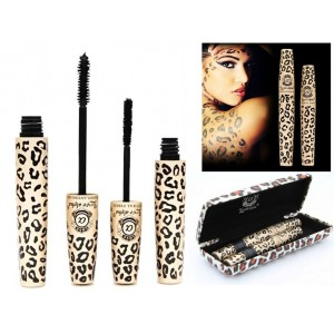 LOVE ALPHA Black Mascara Transplanting Gel + Natural LENGTHENING Fibers