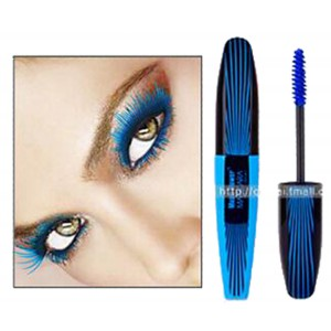 Music Flower Thick Lash Curl Long Lasting Mascara -- Ocean Blue