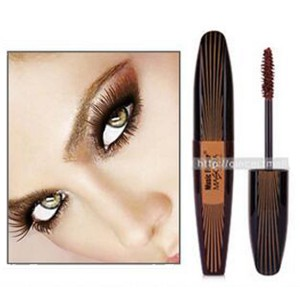Music Flower Thick Lash Curl Long Lasting Mascara -- Classic Brown