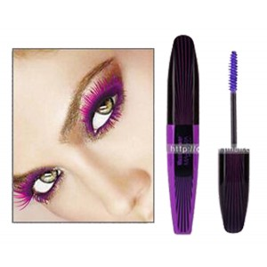 Music Flower Thick Lash Curl Long Lasting Mascara -- Magic Purple
