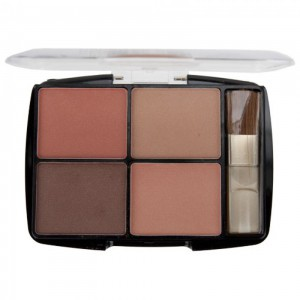 Body Collection Quad Blusher Set - English Rose