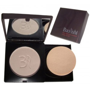 Baolishi Compact Foundation Powder - 01 Ivory