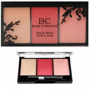 Body Collection Beauty Blush Trio Palette