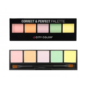 City Color Correct & Perfect 5 Shades Face Cream Concealer/Corrector