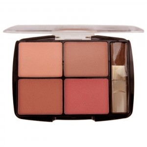 Body Collection Quad Blusher Set - Dusty Pink