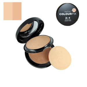 Technic Colour Fix 2 in 1 Pressed Powder & Cream Foundation - Buff