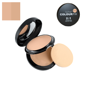 Technic Colour Fix 2 in 1 Pressed Powder & Cream Foundation - Biscuit