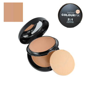 Technic Colour Fix 2 in 1 Pressed Powder & Cream Foundation - Oatmeal