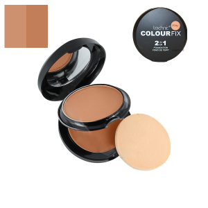 Technic Colour Fix 2 in 1 Pressed Powder & Cream Foundation - ECRU