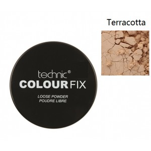 Technic Colour Fix Loose Powder 20g - Terra-Cotta