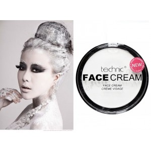 Technic White Face & Body Paint Cream