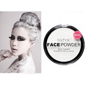 Technic White Face & Body Paint Powder