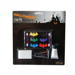 Technic Halloween Party Face Painting Kit