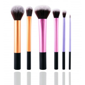 LyDia 6pcs Essential Makeup Brush Set