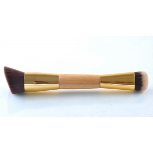 LyDia Eco-Friendly Double-Sided Bamboo Handle Brush F-021