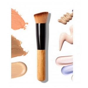 LyDia Eco-Friendly Flat Angled Wooden Handle Brush