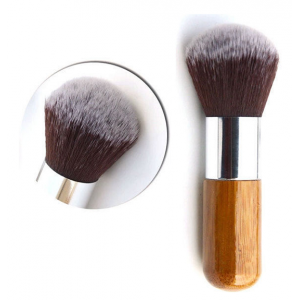 LyDia Eco-Friendly Round Powder Bamboo Brush